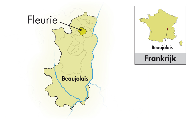 Domaine de Roche-Guillon Fleurie halve fles
