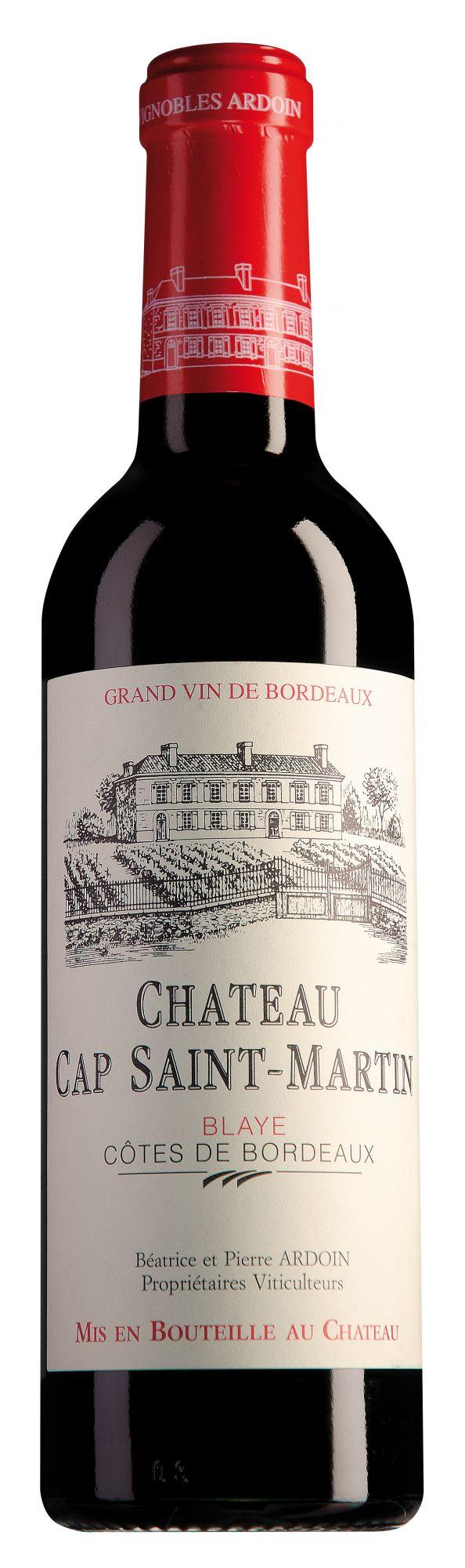 Château Cap Saint-Martin Blaye Côtes de Bordeaux halve fles