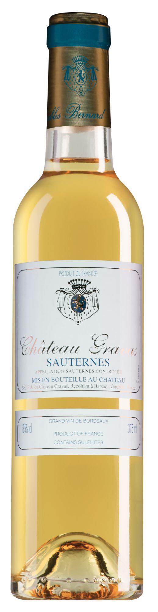 Château Gravas Sauternes halve fles
