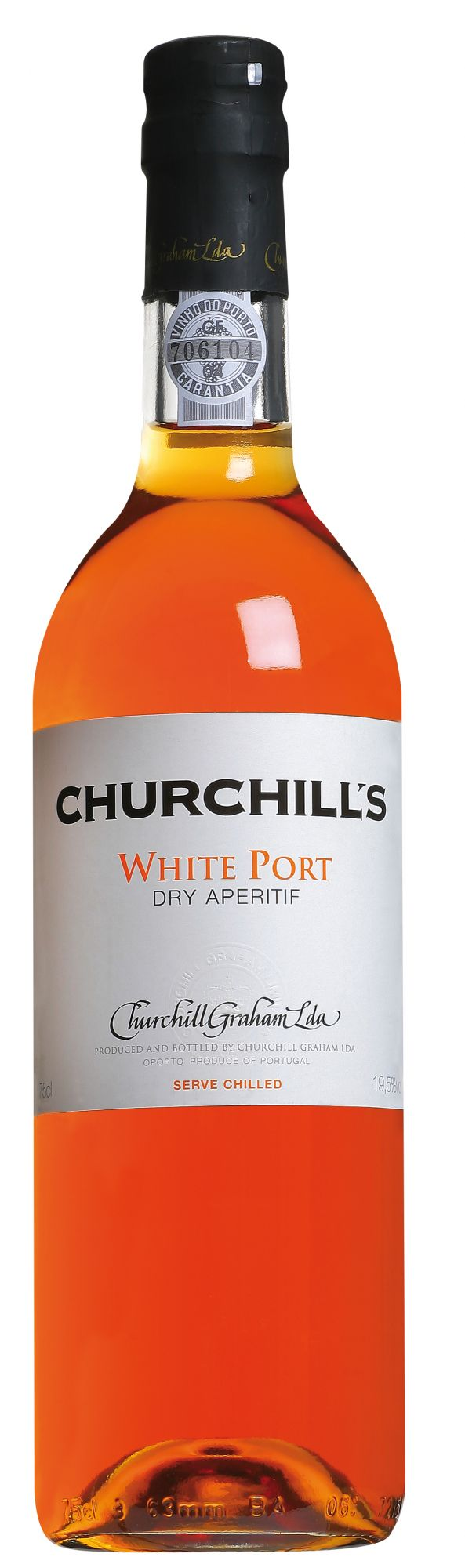 Churchill's Dry White Port 50cl