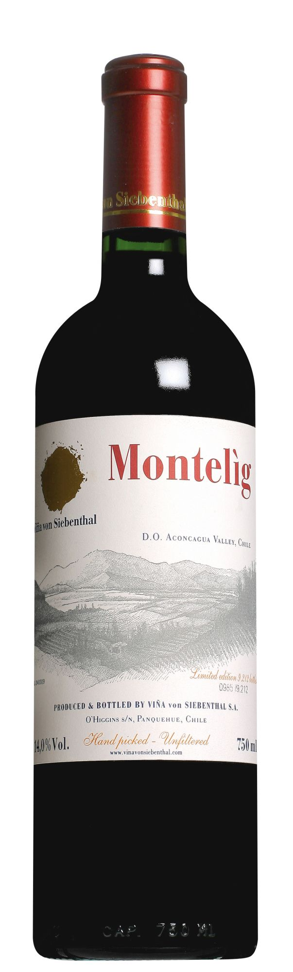 Viña von Siebenthal Aconcagua Valley Montelìg