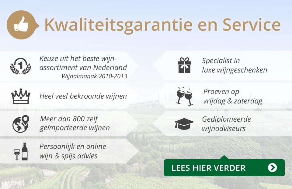 Kwaliteitsgarantie en Service - grijs/goud