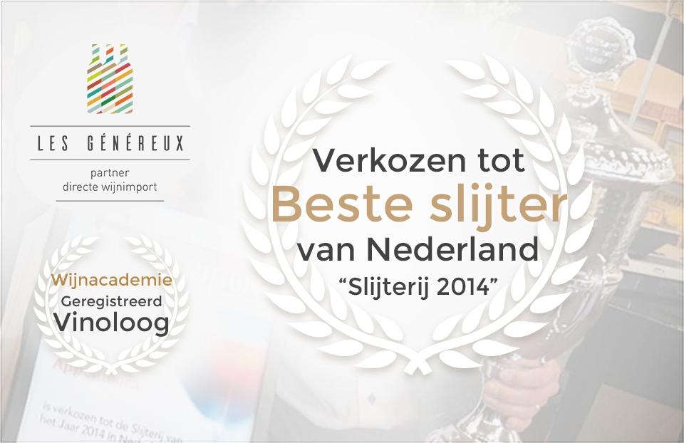 Dia - Beste Slijterij van Nederland - Nieuw logo