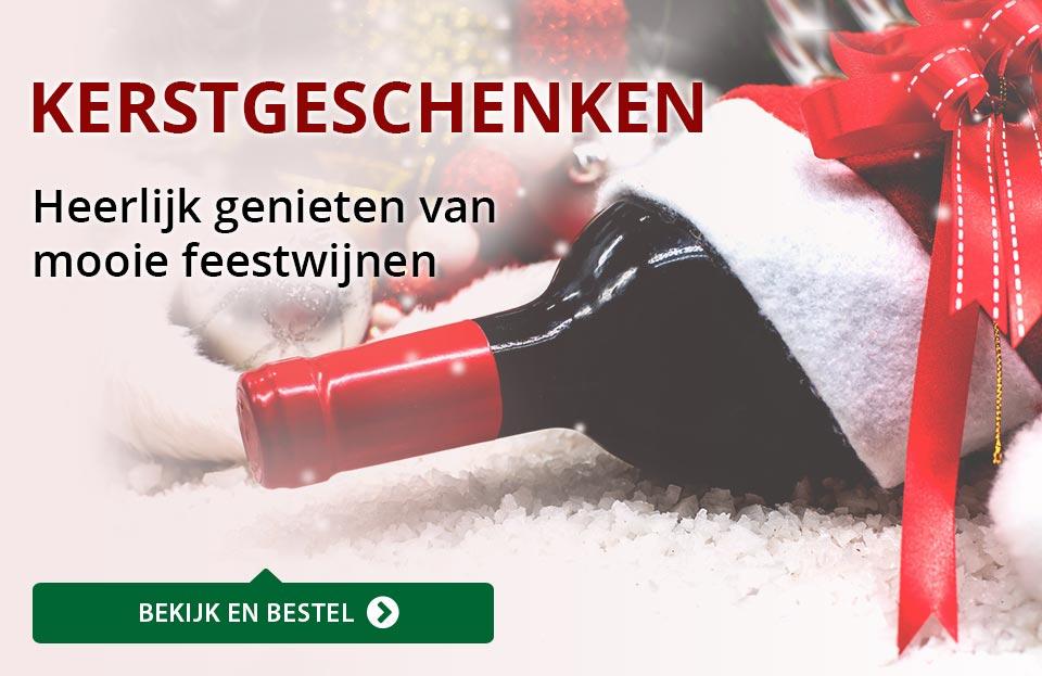 Wijngeschenken - Kerst - rood