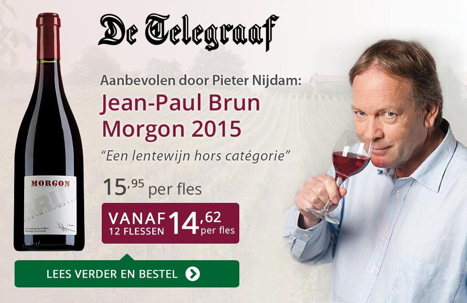 De Telegraaf: Jean-Paul Brun Morgon - paars