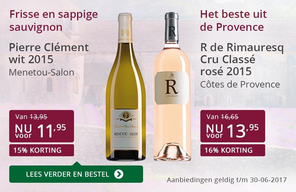 Aanbevolen wijnen juni - paars