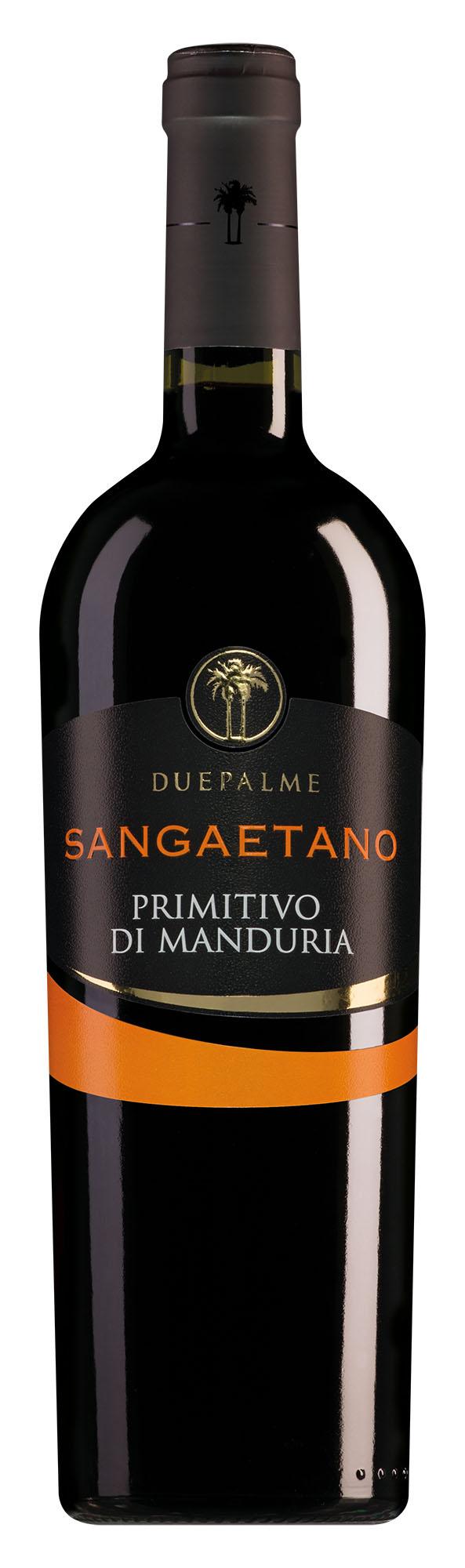 Cantine Due Palme Primitivo di Manduria Sangaetano