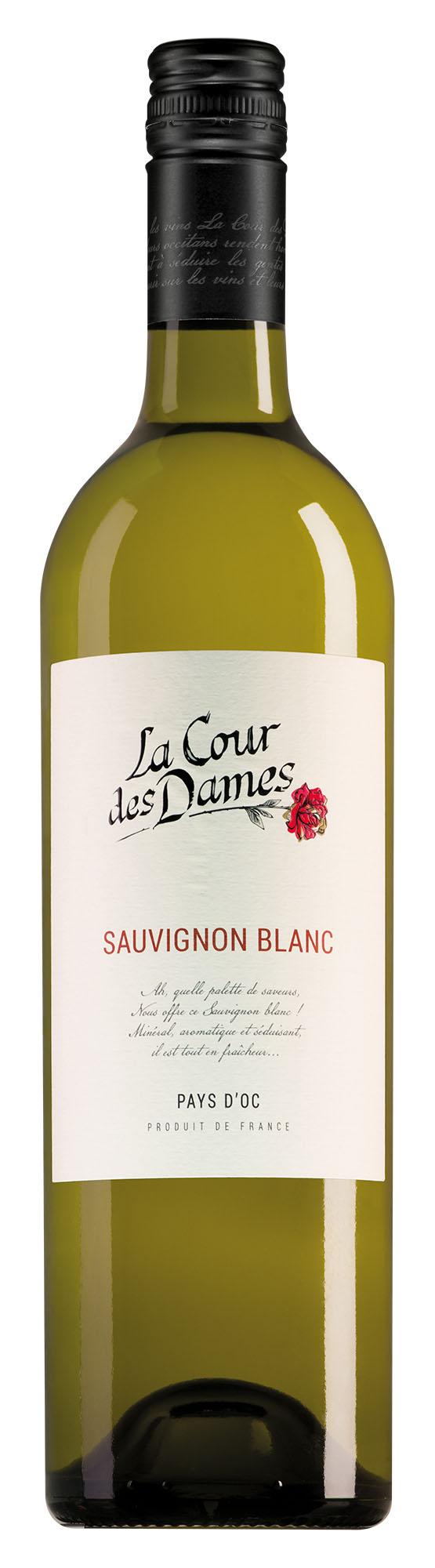 La Cour des Dames Pays d'Oc Sauvignon Blanc