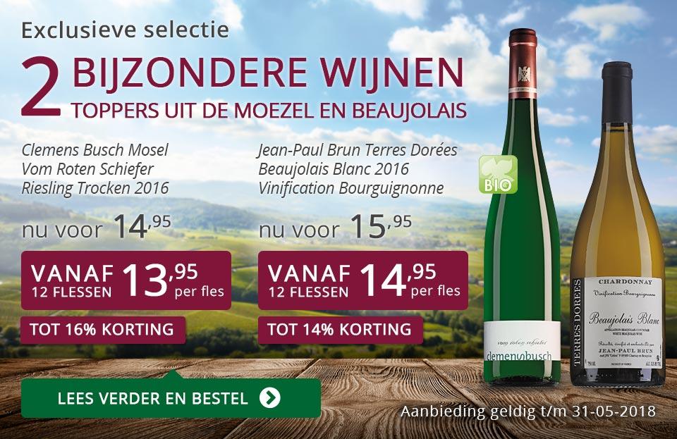Exclusieve wijnen mei 2018- paars