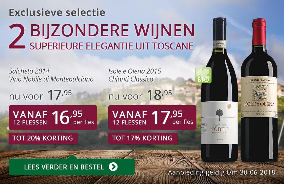 Exclusieve wijnen juni 2018 - paars
