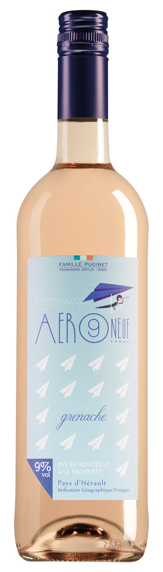 Famille Pugibet Pays d'Hérault Aer Neuf Grenache rosé
