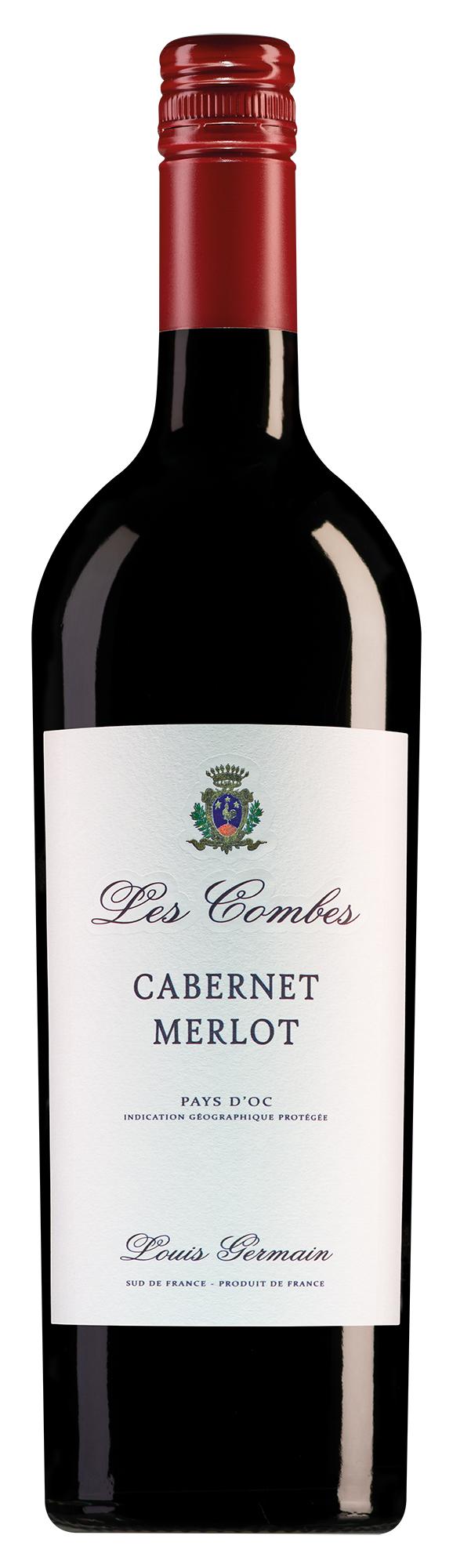 Louis Germain Pays d'Oc Les Combes Cabernet-Merlot
