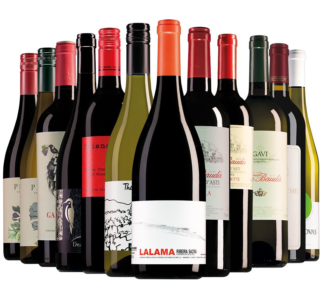 Proefpakket Wijnbericht oktober (12 flessen)