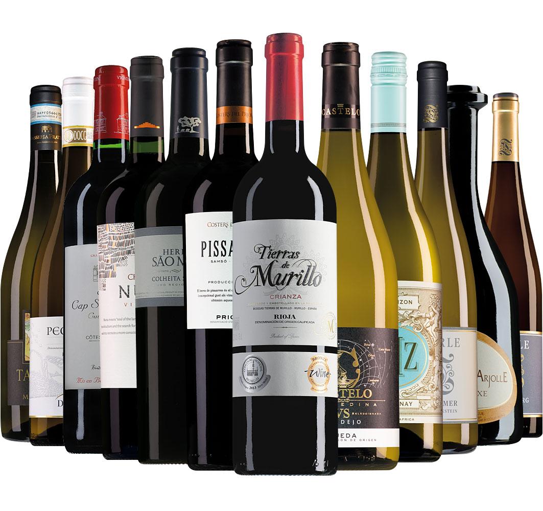 Proefpakket Wijnbericht december (12 flessen)