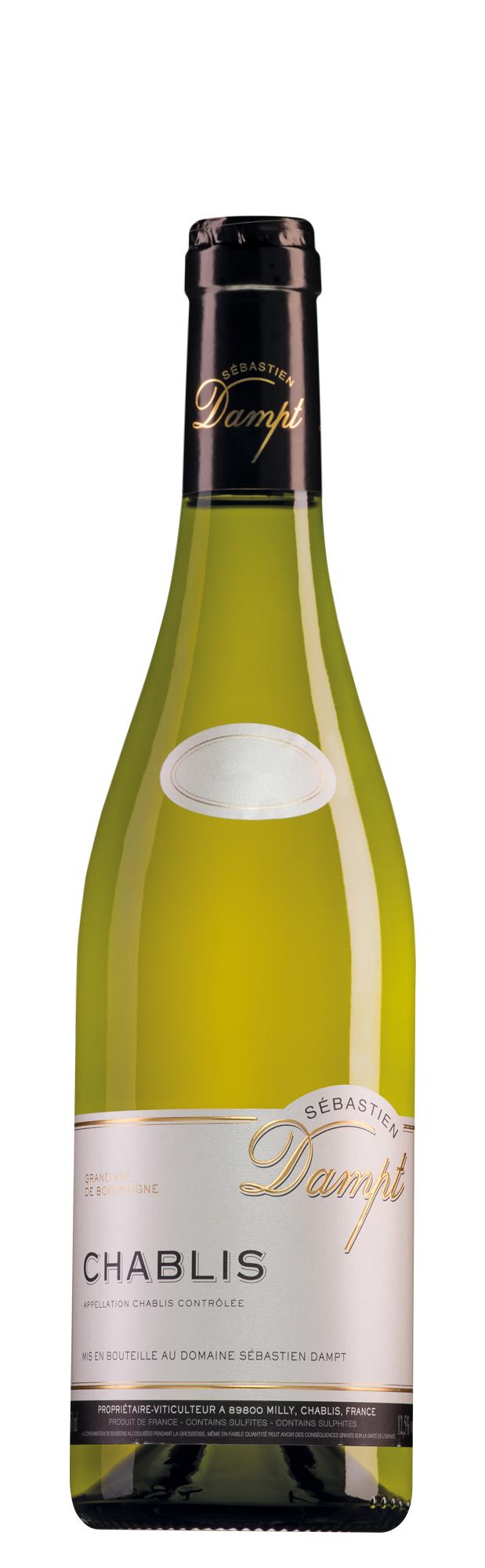 Domaine Sébastien Dampt Chablis halve fles
