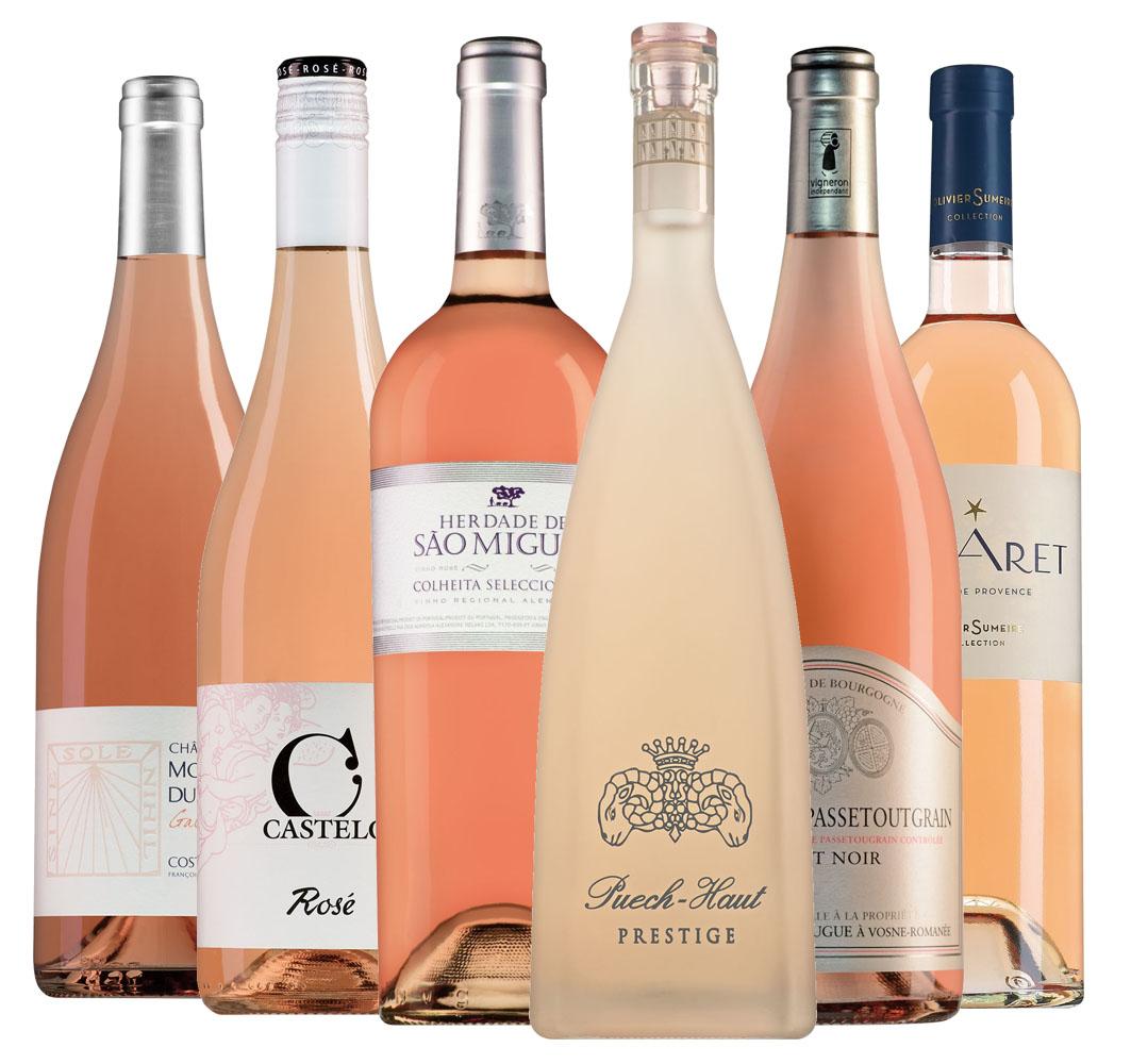 Wijnpakket Rosé (6 flessen)