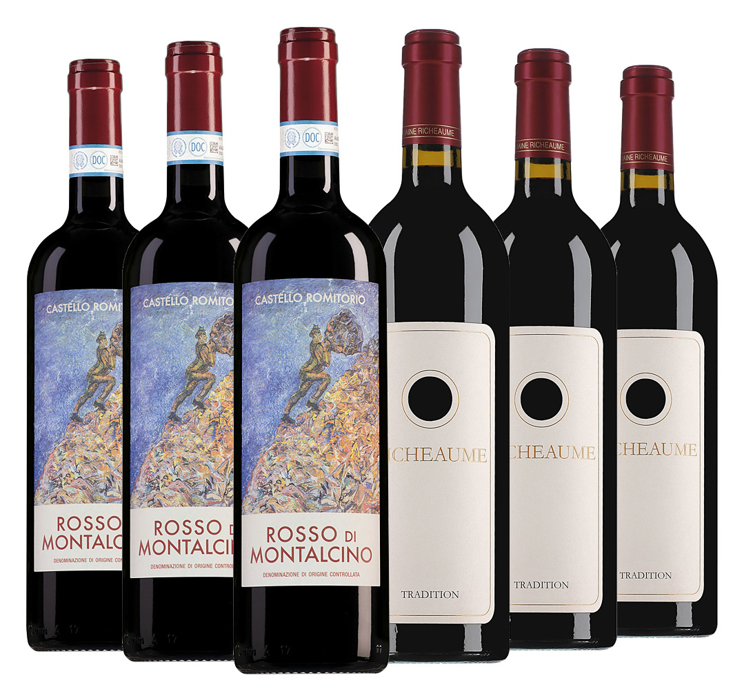 Wijnpakket bijzondere wijnen september (2x3 flessen)