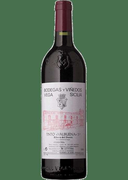 Vega Sicilia Valbuena Ribera Del Duero 2015 Wijnhandel Appeldoorn