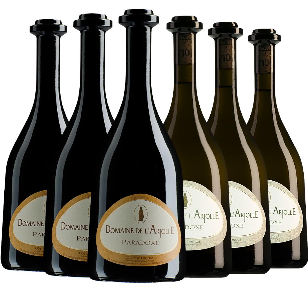 Wijnpakket bijzondere wijnen december (2x3 flessen)