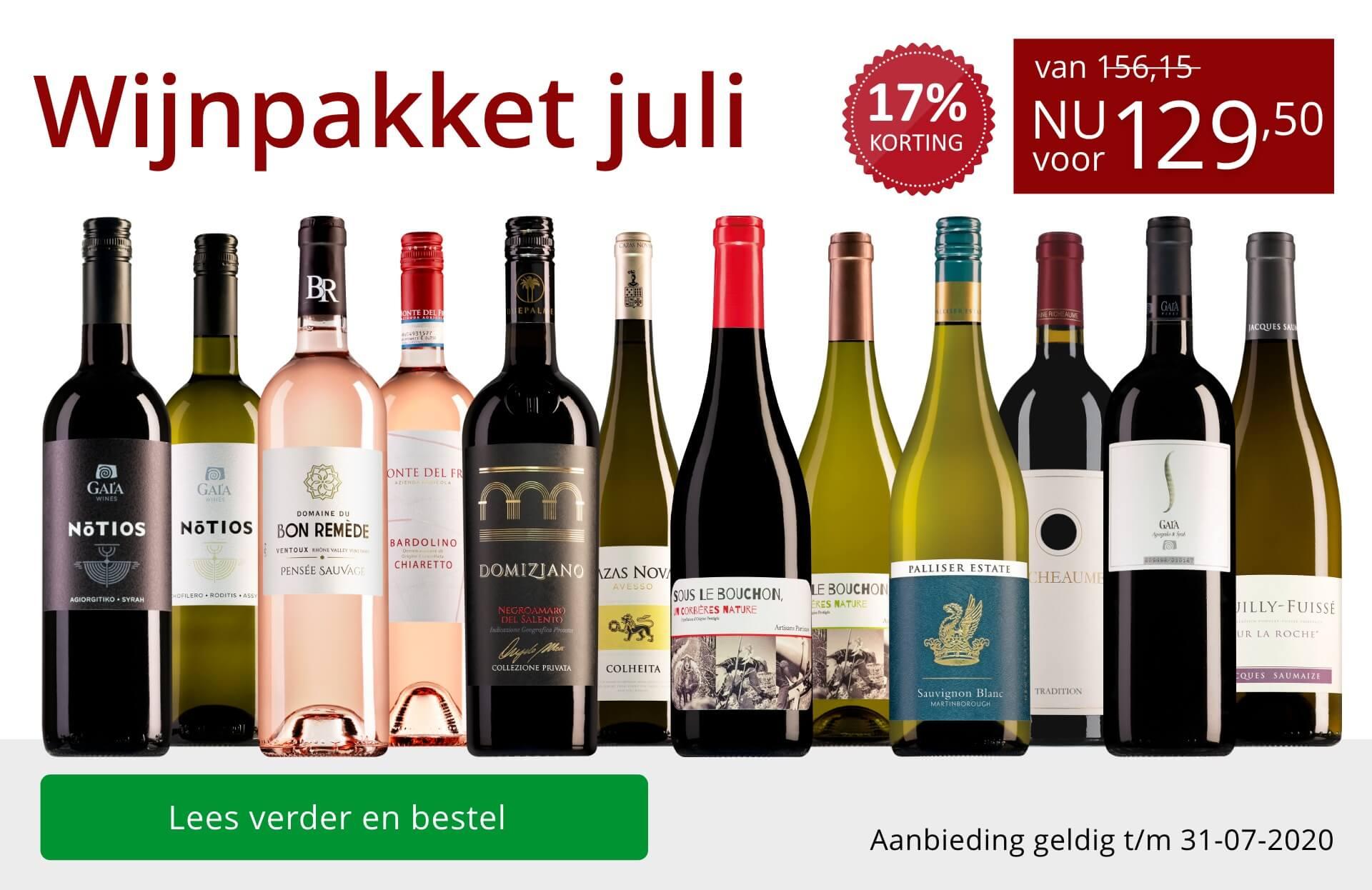 Wijnbericht juli