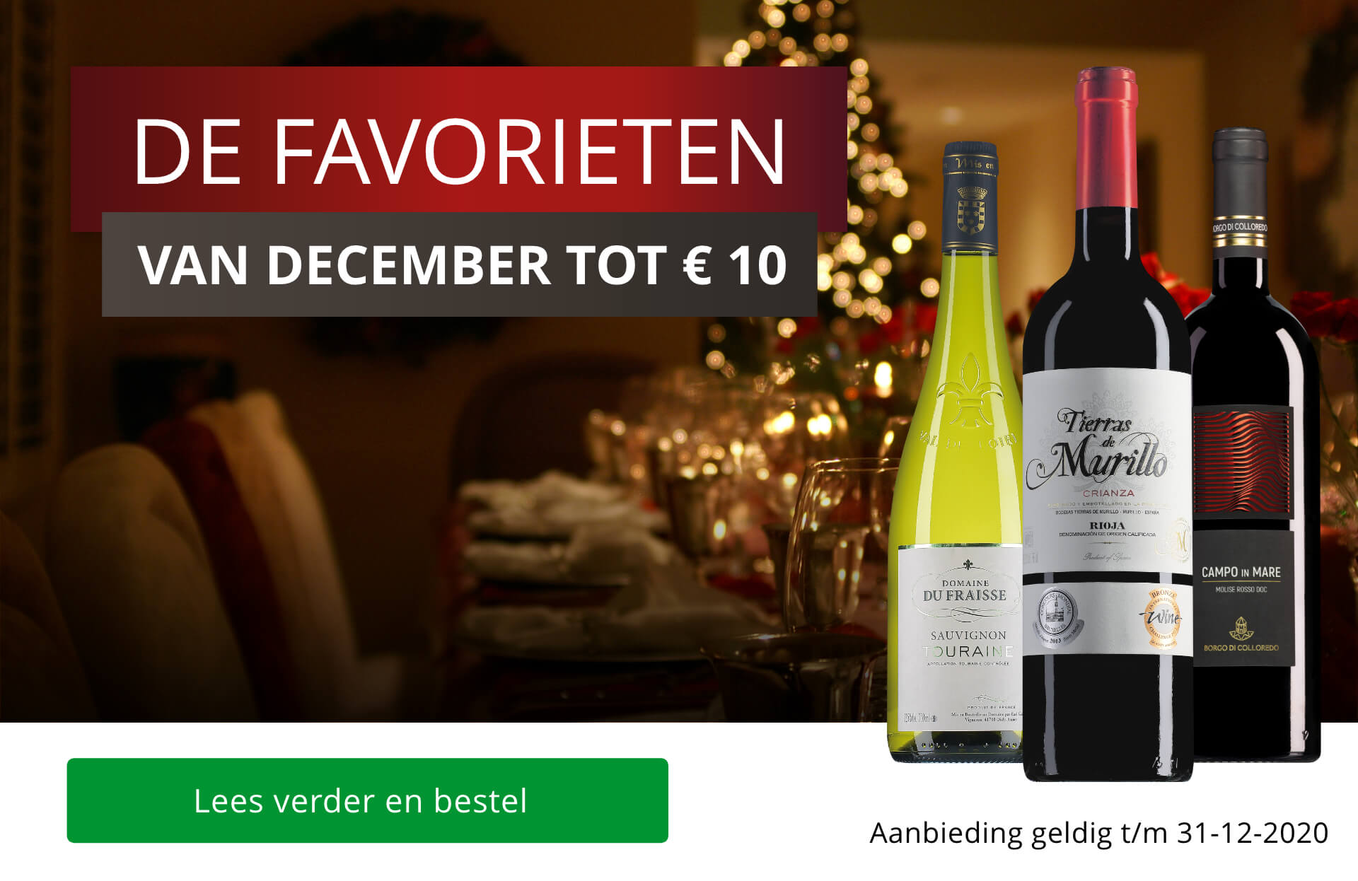 Decemberfavorieten tot 10 euro
