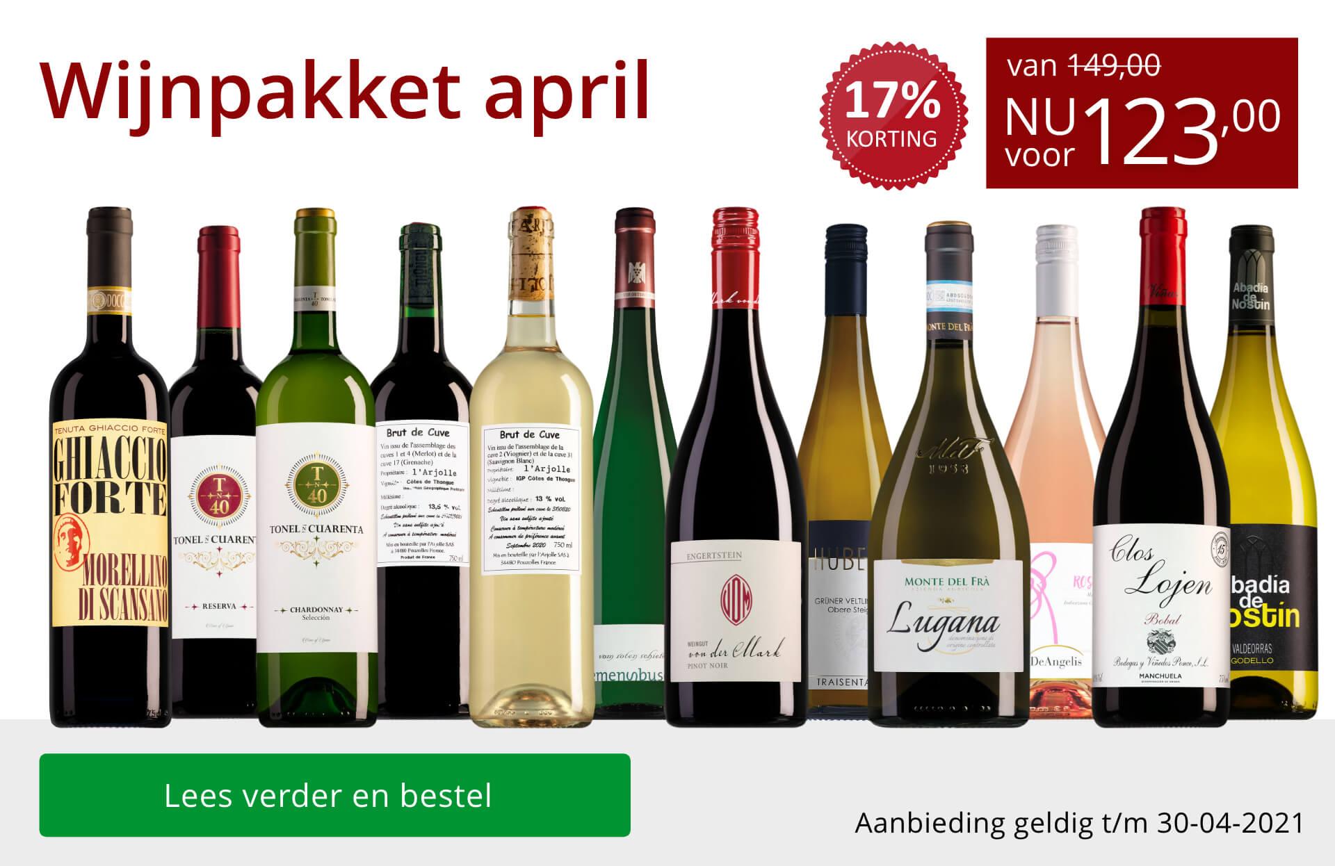 Wijnbericht april