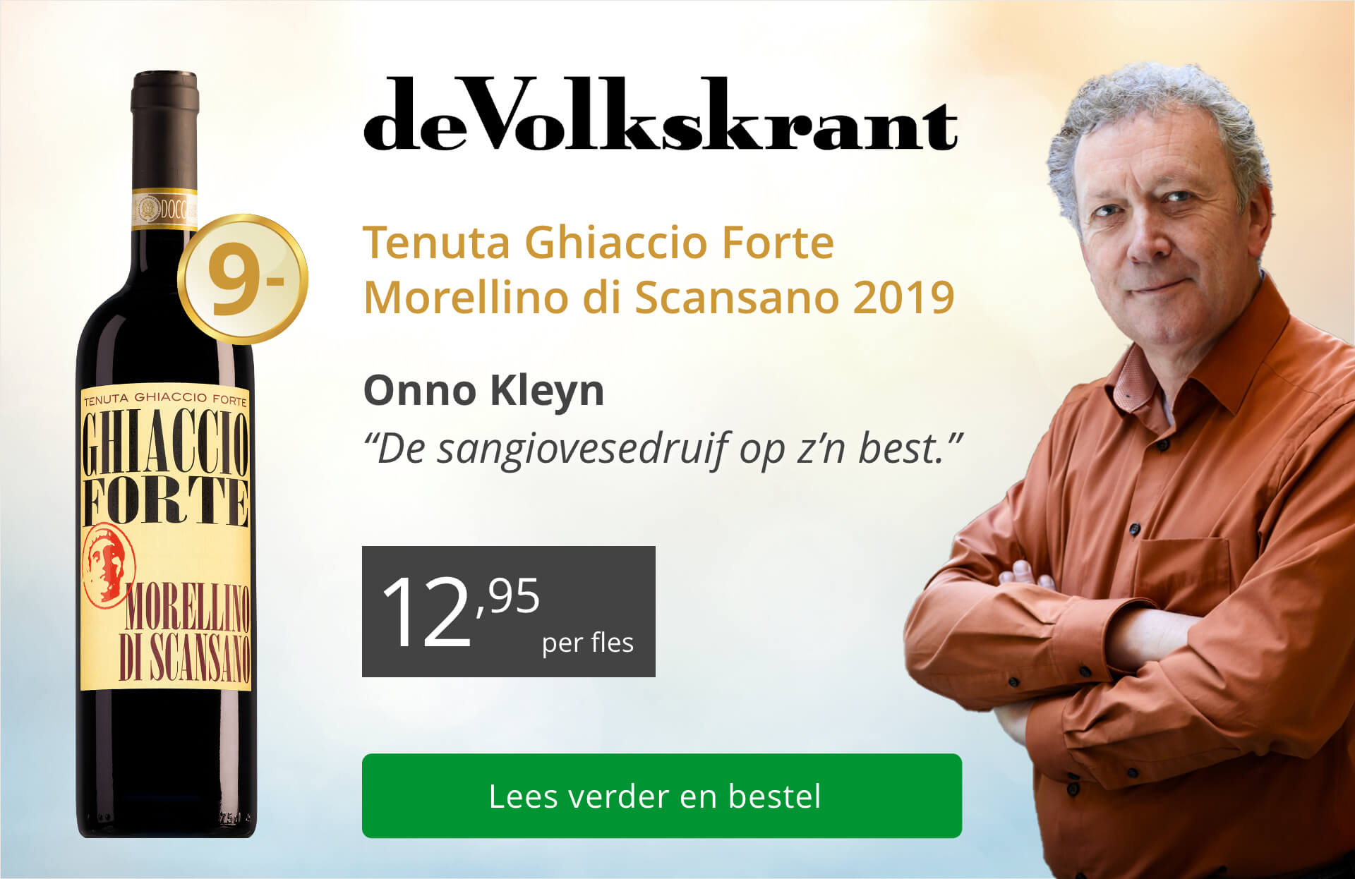 de Volkskrant - Tenuta Ghiaccio Forte Morellino di Scansano