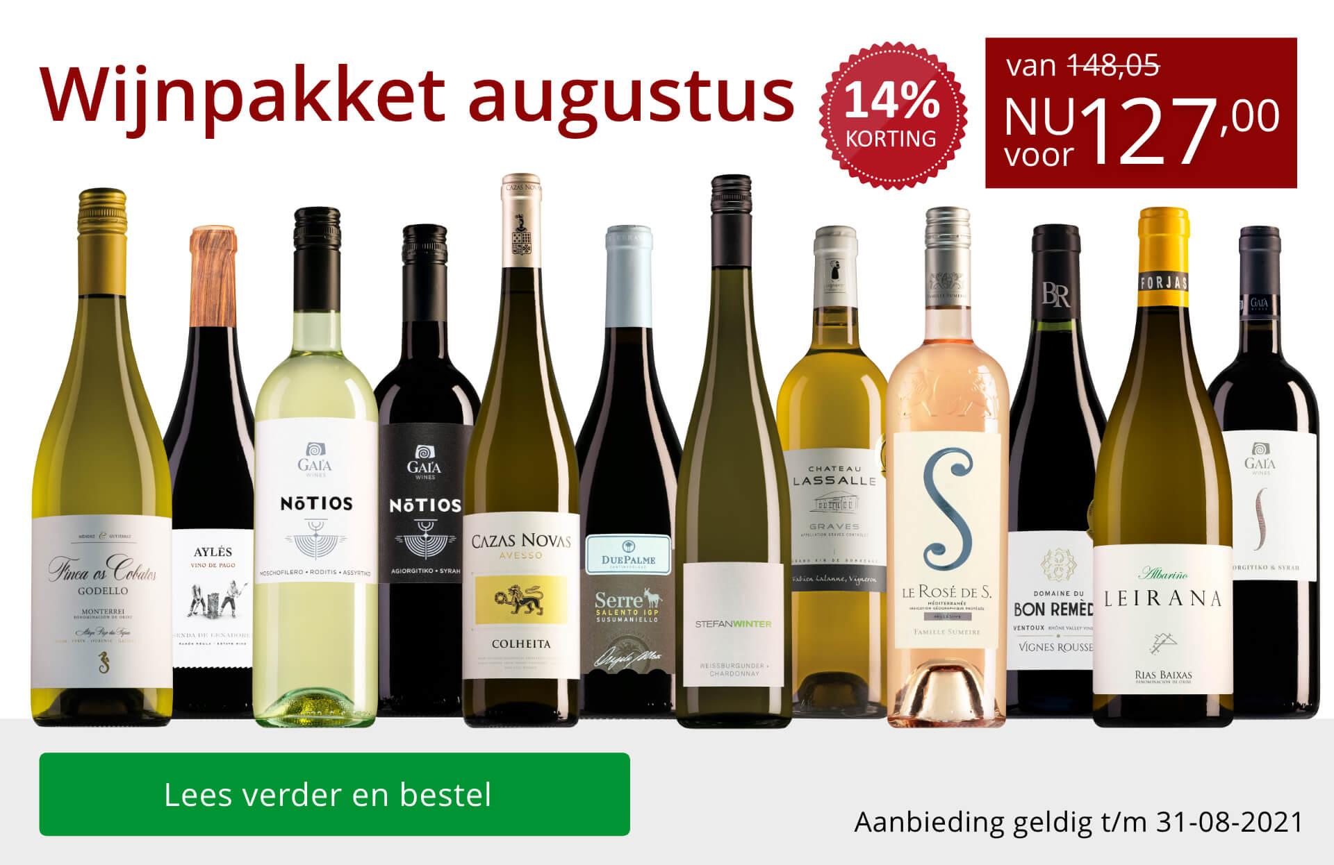 Wijnbericht augustus